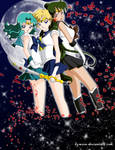 Outer Senshi in the Sky