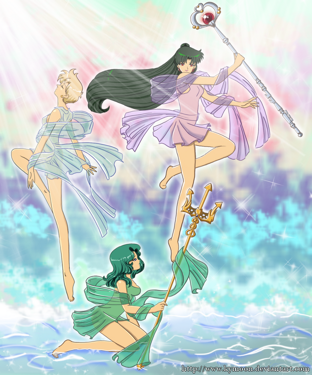 The 3 goddesses by Kymoon