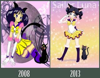 Sailor Luna 2008-2013 by Kymoon