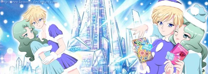 Haruka and Michiru, special Noel