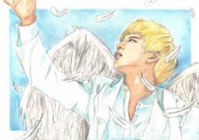 BAP: Angel Daehyun by BabyReni
