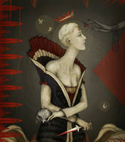 Dragon age Inquisition : Florianne de Chalons by Nerva1