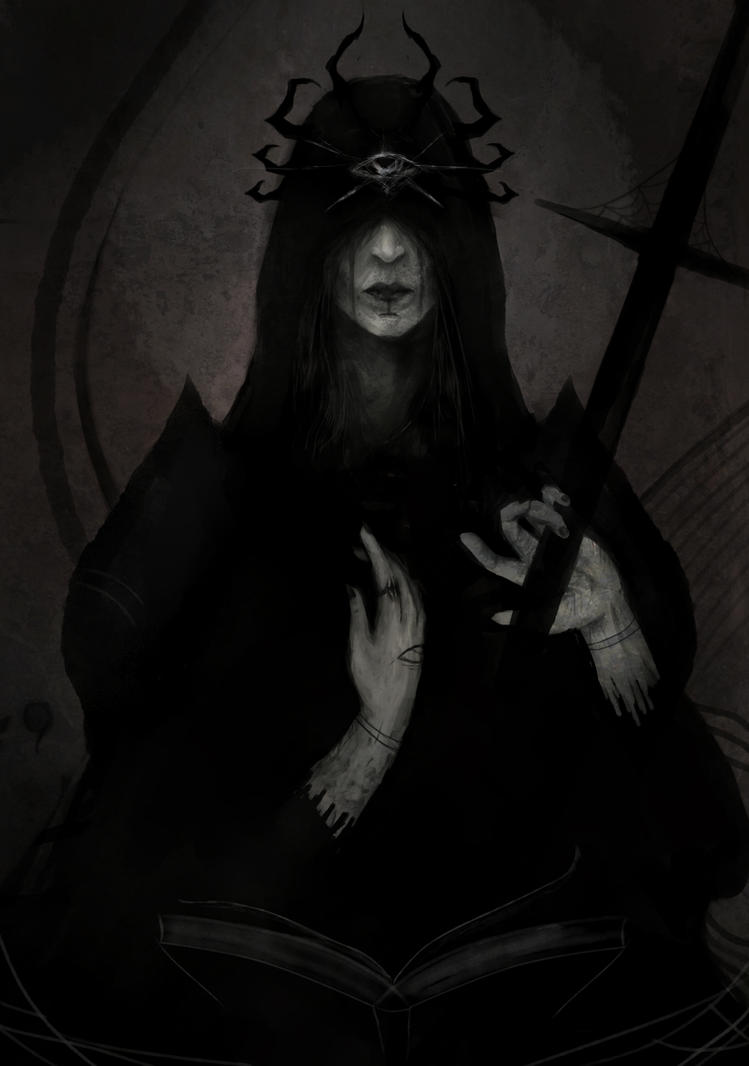 Priestess of the Spider by Nerva1