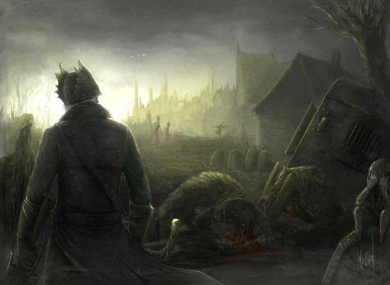 Bloodborne fanart by Nerva1