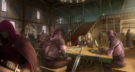 The Tavern - Contract by Nerva1