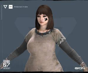 Female Survivor - Liz