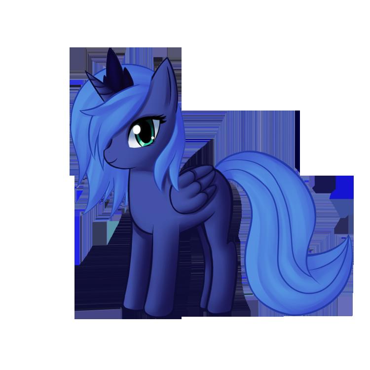 My little pony filly luna - photo#48