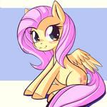 Shy Yellow Pony