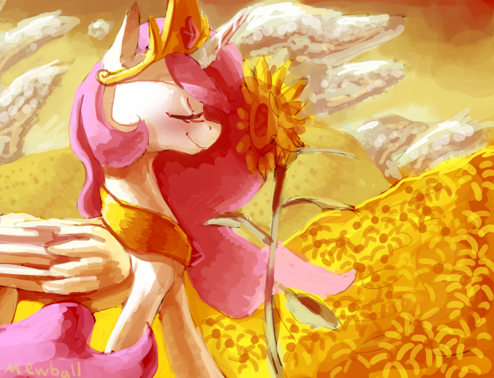 Sunflowers by Mewball