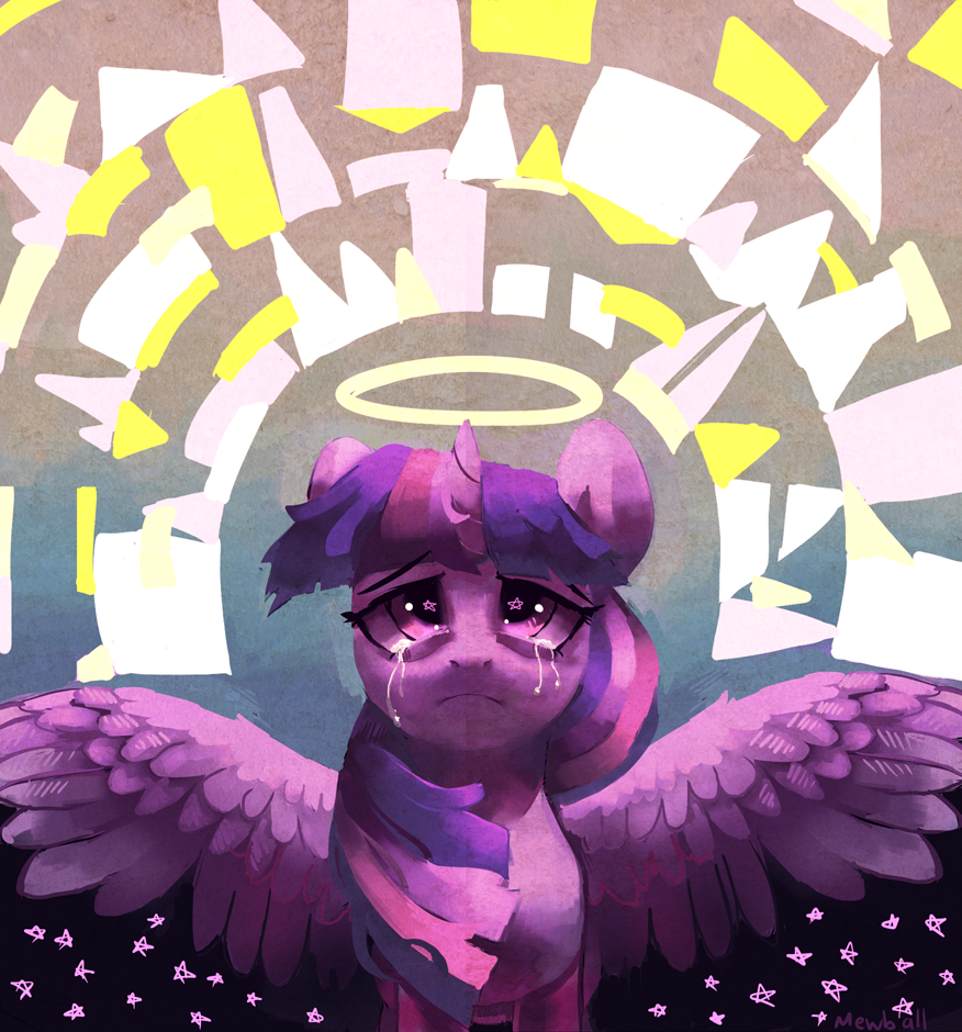Angel by Mewball
