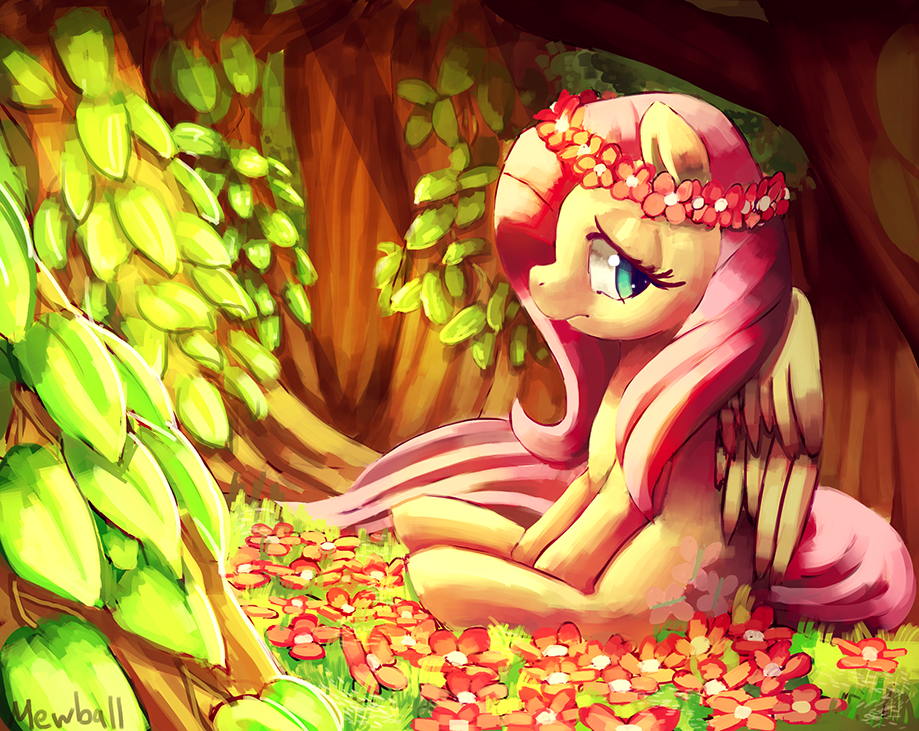 lonely forest by Mewball