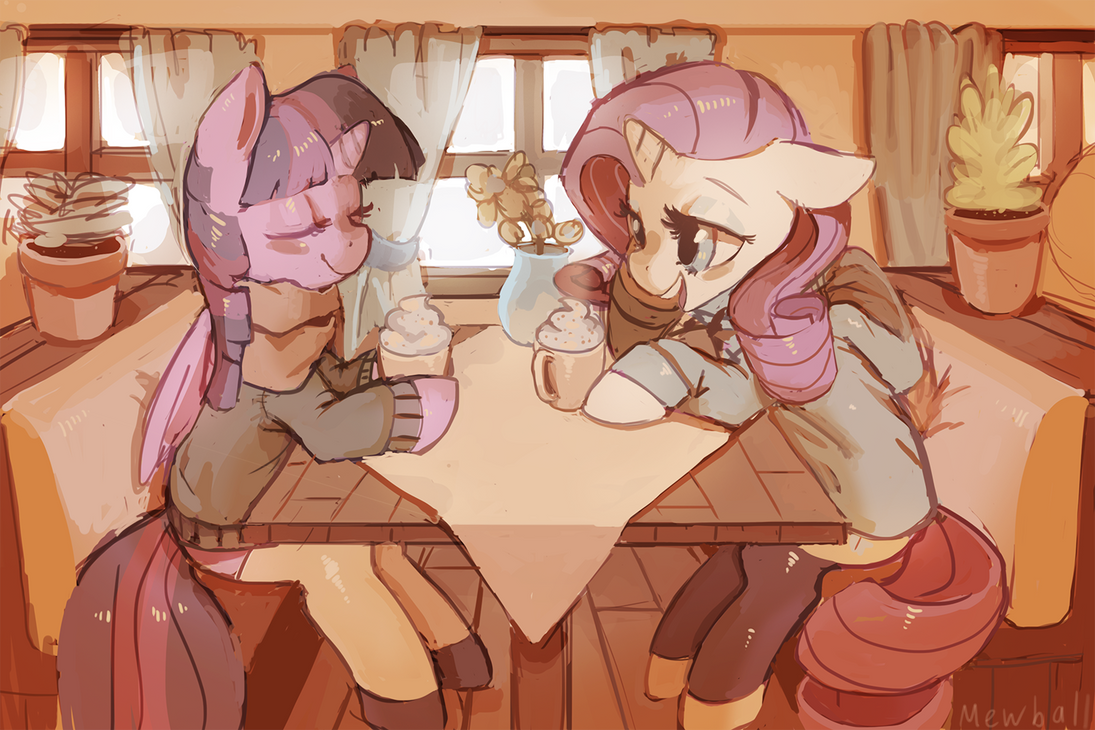 Cozy Cafe by Mewball