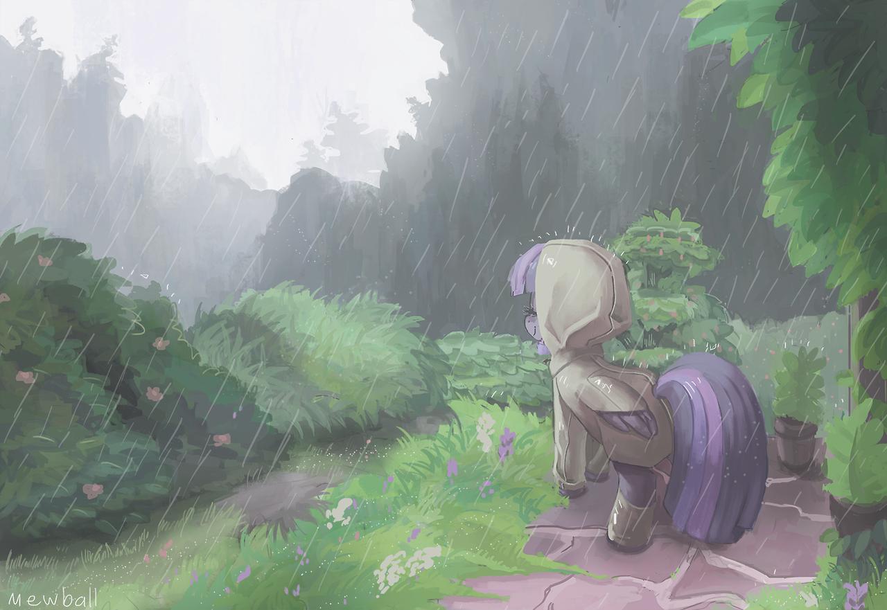 Rain by Mewball