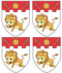 NTU Logo +Saber Lion Ver.+