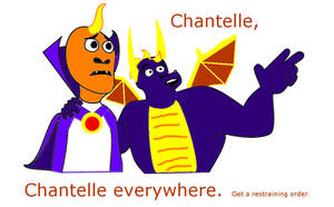 Chantelle everywhere by SpyrotheBadassDragon