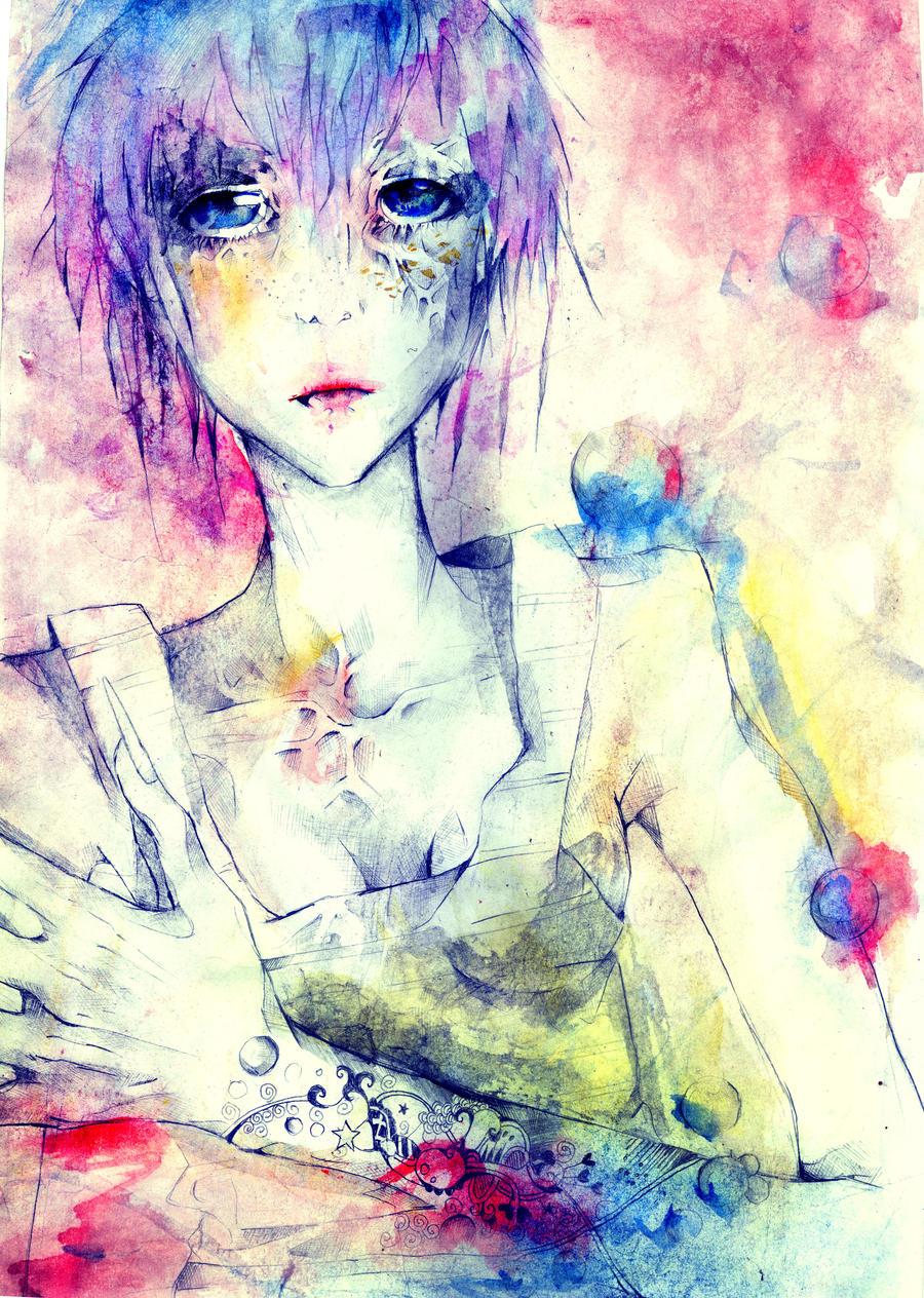 Girl by dxsfca