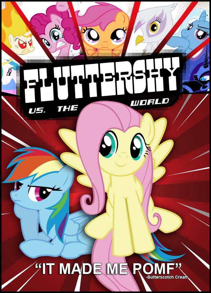 Fluttershy VS The World by RainbroDash