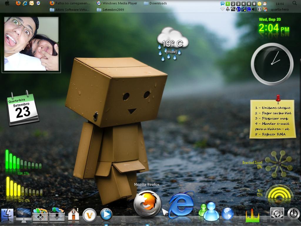 Desktop XP Mac-transformated by cleubinho