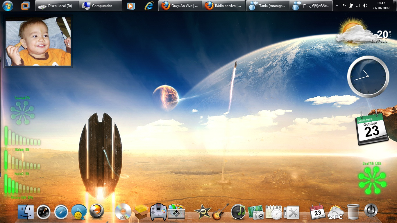 my Windows 7 by cleubinho
