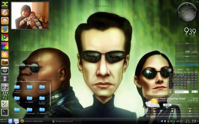 My Desktop Sabayon with KDE