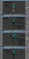 ~{MMD To Blender Posing Tutorial}~