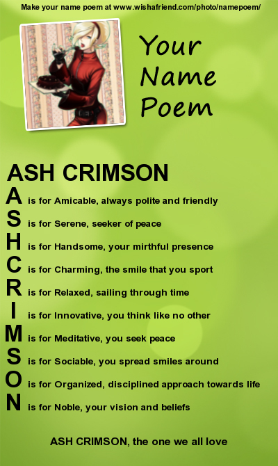 AshCrimsonx's Profile Picture
