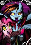 Vampire Dash and Pinkie