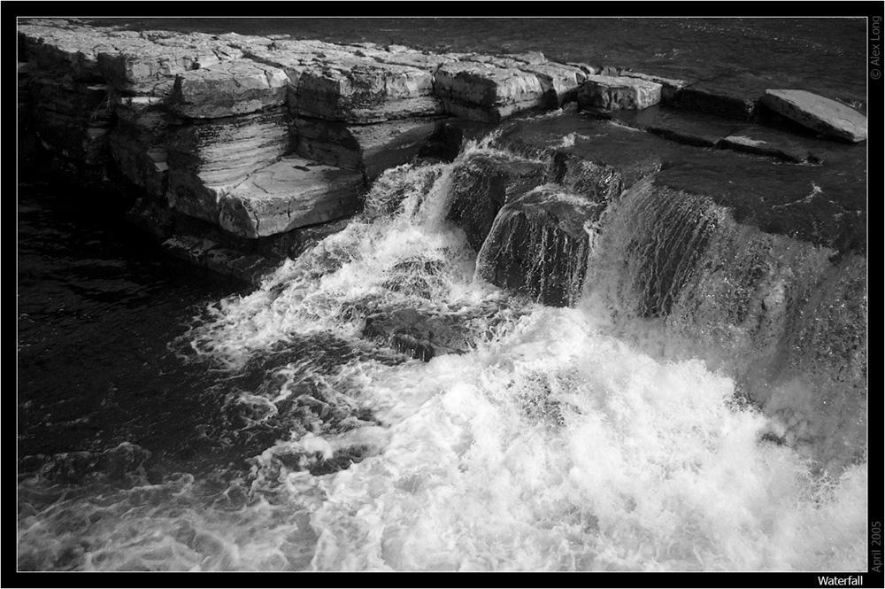 Waterfall by ChkyMnky