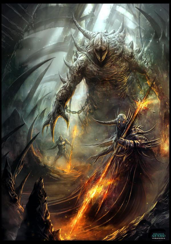 Infierno. La legion del fuego by Dibujante-nocturno