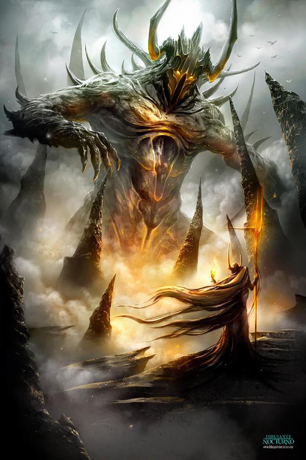 El ritual del fuego by Dibujante-nocturno
