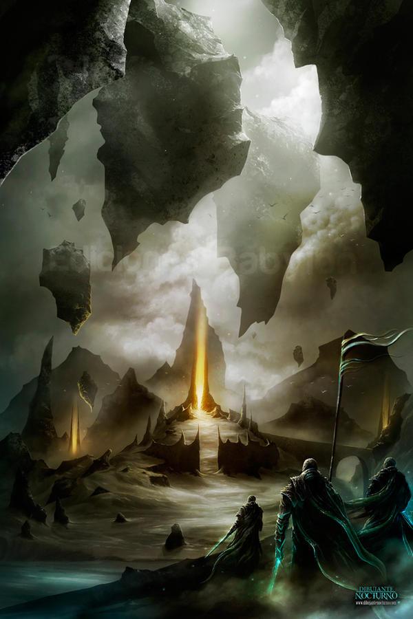 Hacia el reino de los muertos by Dibujante-nocturno