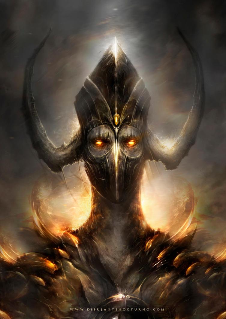 Devil eyes by Dibujante-nocturno