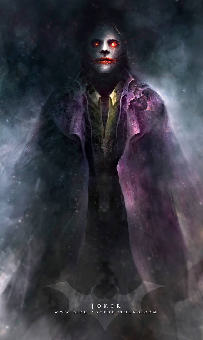 Joker by Dibujante-nocturno