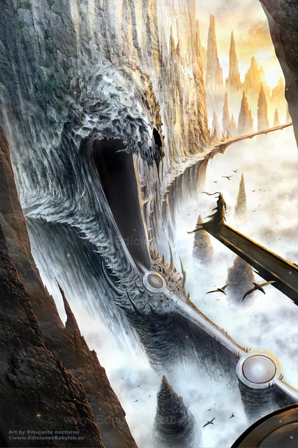 La caverna del dragon by Dibujante-nocturno