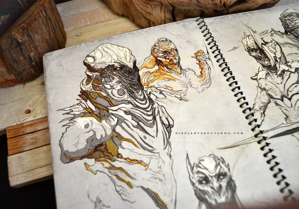 Sketchbook :) by Dibujante-nocturno on DeviantArt