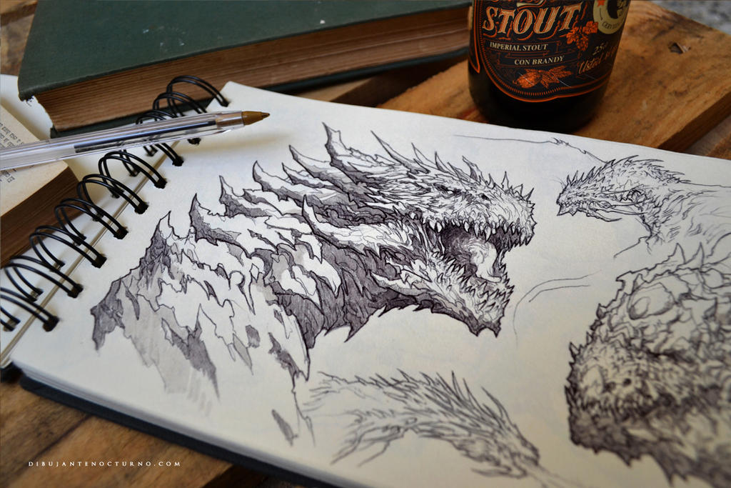 Dragons :) by Dibujante-nocturno on DeviantArt