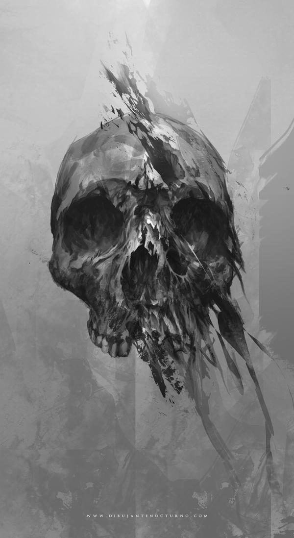 Skull by Dibujante-nocturno on DeviantArt