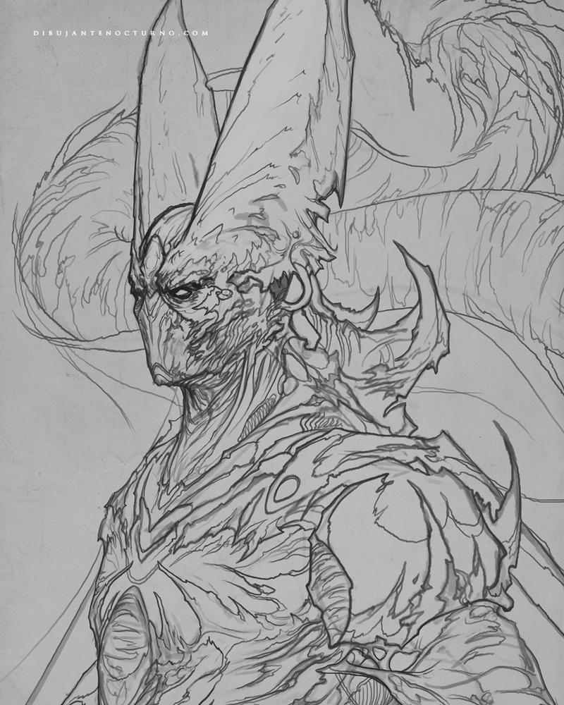 Cell Sketch by Dibujante-nocturno