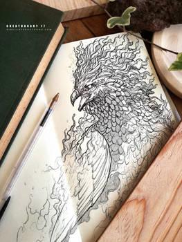 CREATUANARY day 17 (phoenix)
