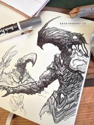 #creatuanary Day 23:#myr ( #magicthegathering ) by Dibujante-nocturno