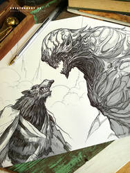#creatuanary Day 28: Solo vs. Cyclop by Dibujante-nocturno