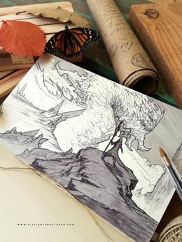 Sketch // Monarca