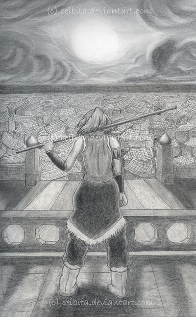 Avatar Korra - Ba Sing Se by Ceibita