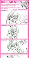 kissing meme by saroona97