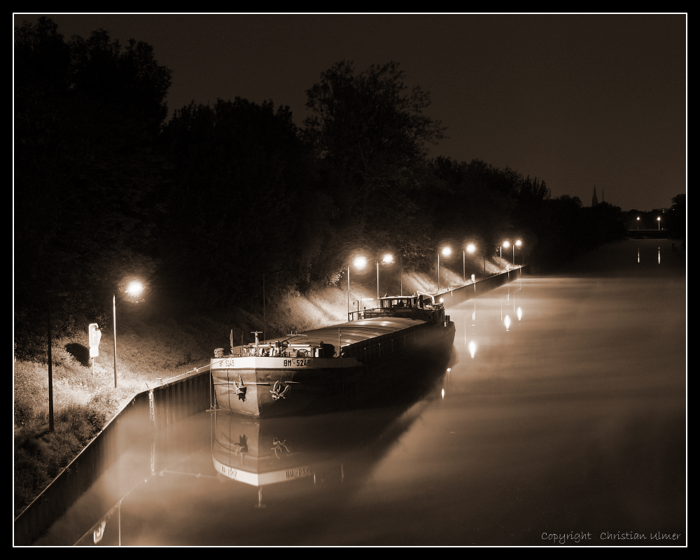 Steaming Water - I (Sepia)