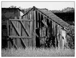 Old derelicted barn
