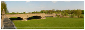 Destroyed Bridge - panoramic