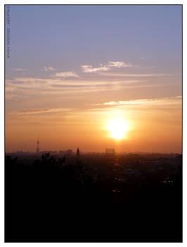 Morning above Berlin - VIII