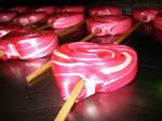 love heart lollipop