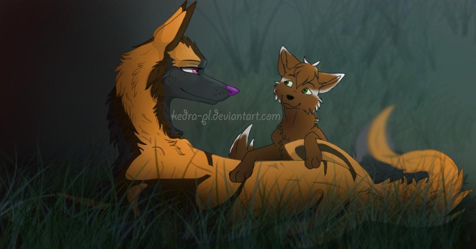Magic Wolf by Kedra-PL